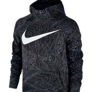 NIKE BOY'S SIZE SMALL (8) THERMA PULLOVER HOODIE